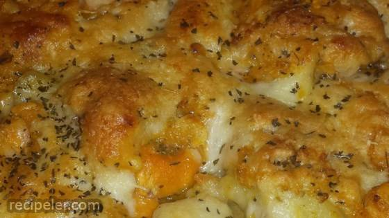 Baked Yam and Potato Casserole