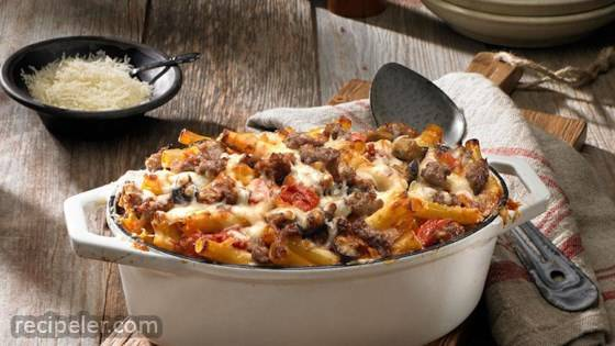 Baked Ziti with Johnsonville talian Sausage