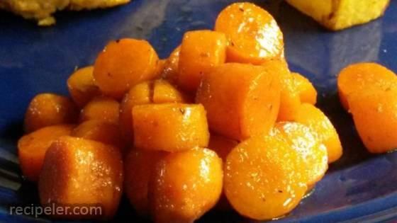 Balsamic Brown Sugar Carrots