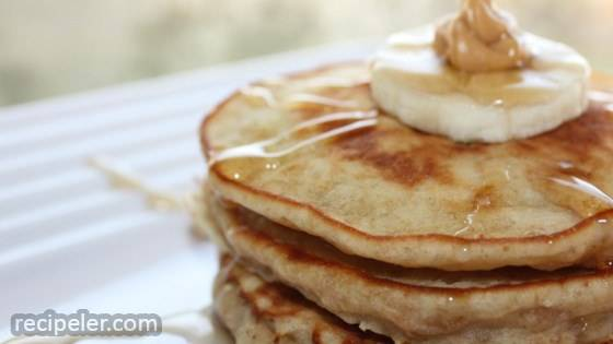 Banana and Peanut Butter Pancakes