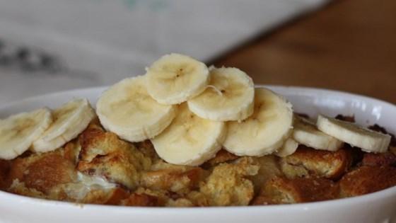 banana cinnamon roll casserole