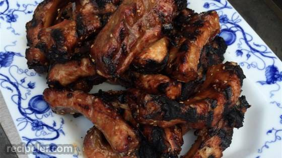 Barbecued Korean Ribs