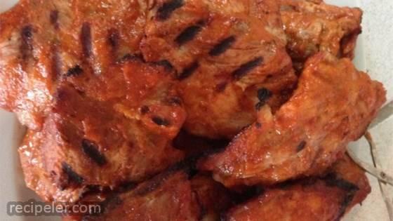 Barbequed Pork Ribs