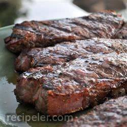 Barbequed Steak