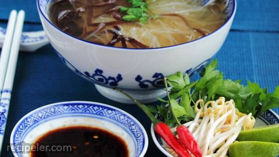 Basic Vegetarian Pho