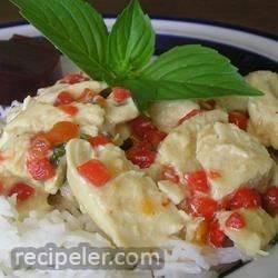 Basil Cream Chicken