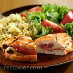BBQ Chicken Cordon Bleu