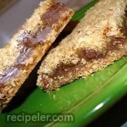 becky's oatmeal carmelitas