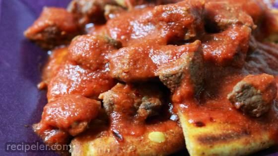 Beef and Pita Casserole