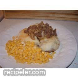 Beef Noodle Shepherd's Pie