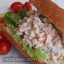 Beef Salad Sandwich Filling