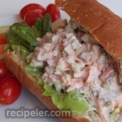 Beef Salad Sandwich Filling