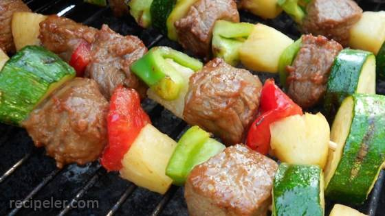 Beef Shish Kebabs for Freezer Cooking