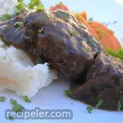 Beef Short Ribs Sauerbraten