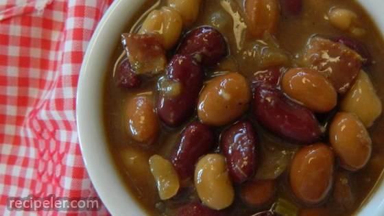 Belle's Baked Beans