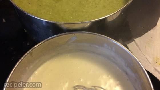 Best Cream Of Broccoli and Potato Soup