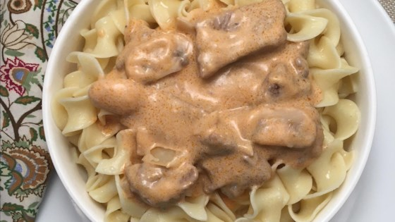 Best Ever Russian Beef Stroganoff