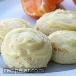 beth's orange cookies