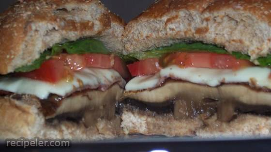 Beth's Portobello Mushroom Burgers