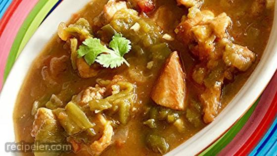 Bianca's Green Chile Pork