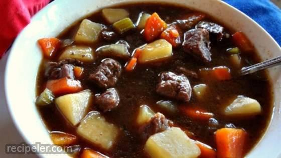 Big Papa's Homemade Beef Stew
