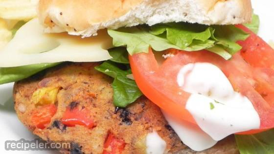 Black Bean and Potato Veggie Burgers