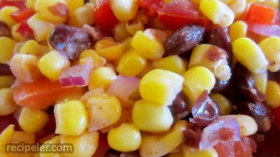 Black Bean and White Corn Salad