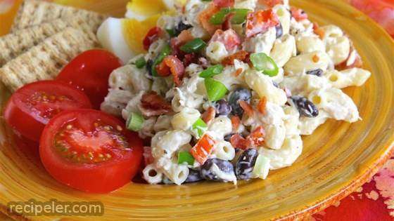 Black Bean Tuna Salad