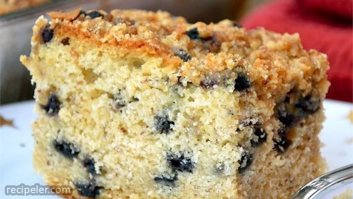 blueberry buttermilk coffeecake