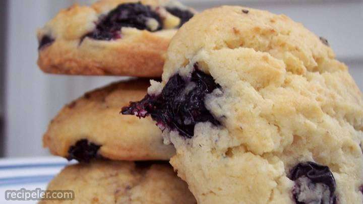 blueberry drop cookies
