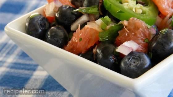 Blueberry Grapefruit Salsa