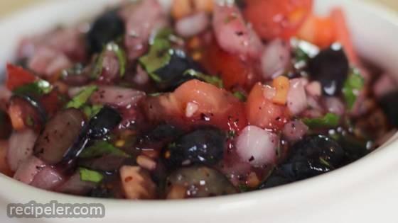 Blueberry Habanero Salsa