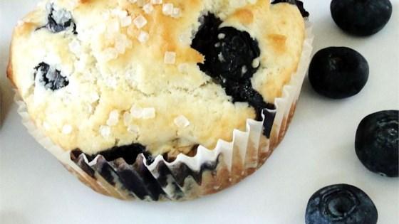 blueberry nut muffins