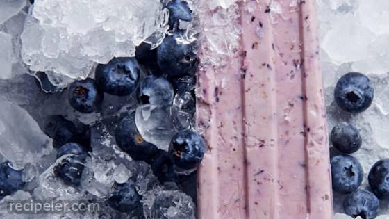 Blueberry Yogurt Pops