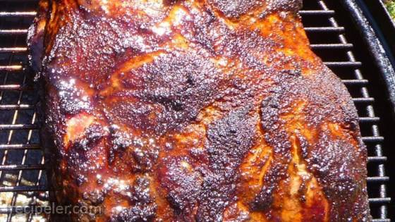 Bob's Pulled Pork on a Smoker