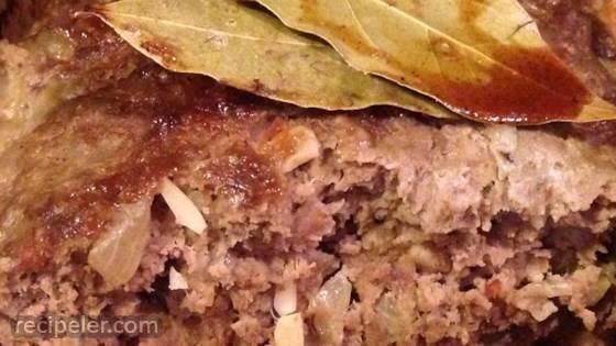 Bobotie (South African Meatloaf)