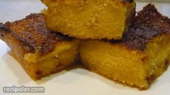 Bolo Facil de Fuba Cremoso (Easy Creamy Cornmeal Cake)