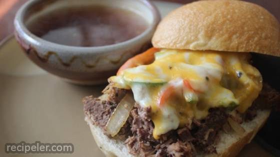 Bonnie's New Year's Beef Dip