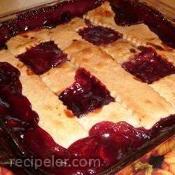 brandy's blackberry cobbler