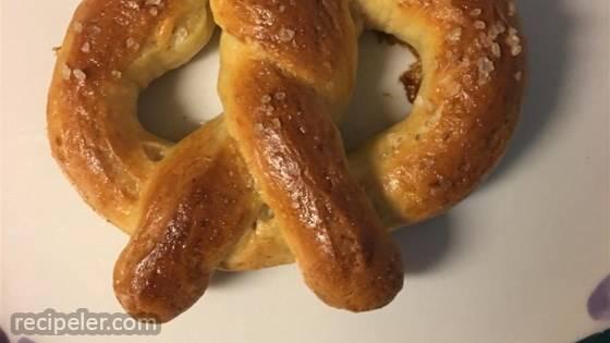bread pretzels