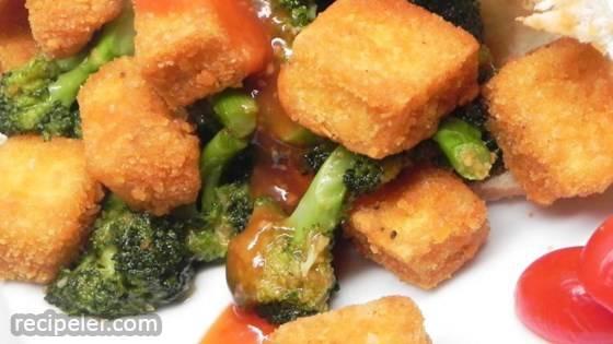Broccoli Tofu Pitas