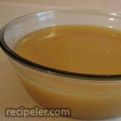brown chicken stock