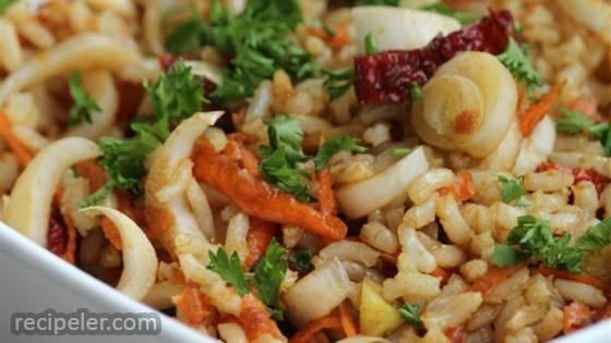 Brown Rice Belgian Endive Salad