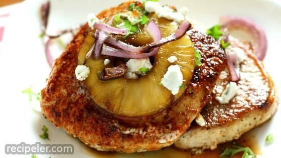 Brown Sugar-Pineapple Pork Chops