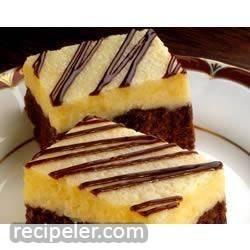 brownie cheesecake bars