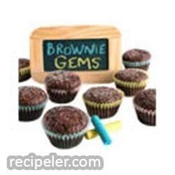 Brownie Gems Bites