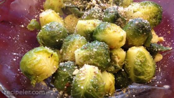 Brussels Sprouts with Nuts