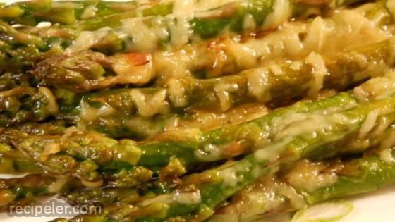 Buck's talian-Grilled Asparagus