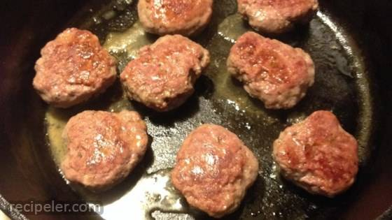 Bulk Venison Breakfast Sausage