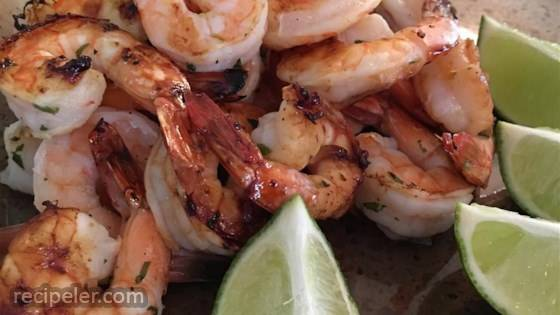 'But Why s The Rum Gone?' Grilled Shrimp